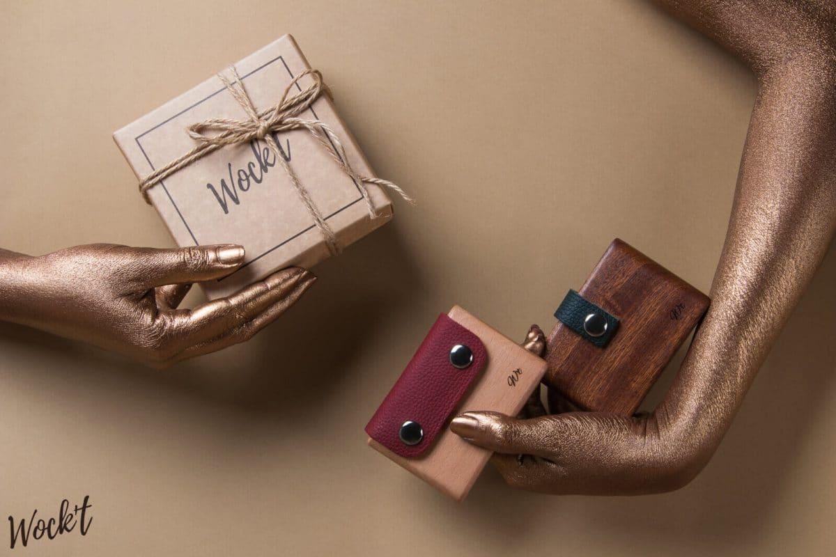 accessoires en bois wock't