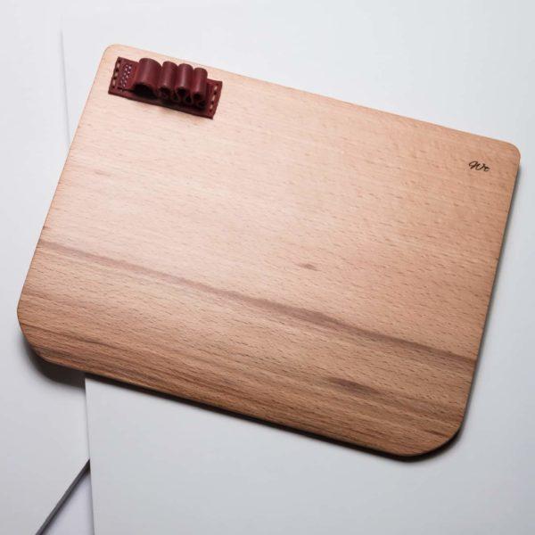 The Wopad : Hêtre cuir bordeaux