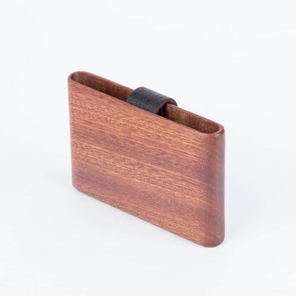The Dot : Acajou cuir marron