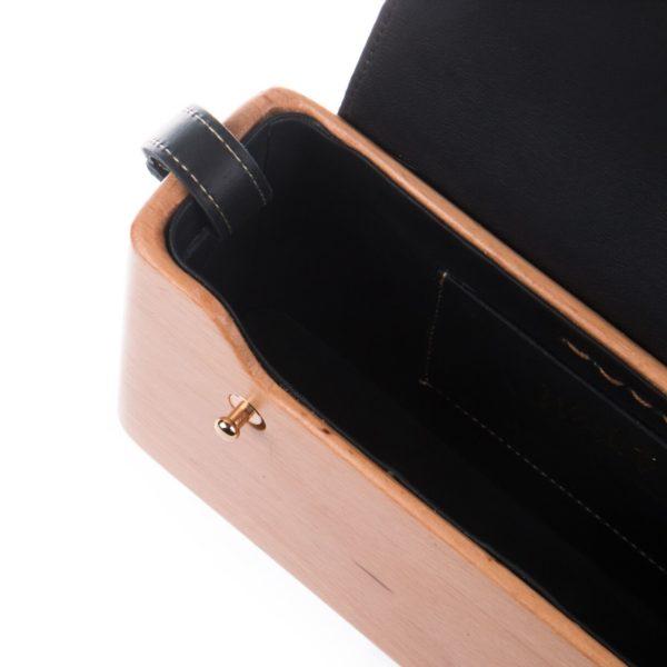The Wagbag : Hêtre cuir noir