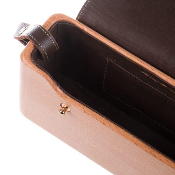The Wagbag : Hêtre cuir marron